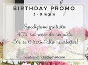 Birthday Promo: festeggiando