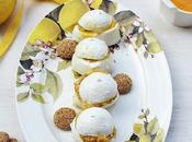 Bufaline dolci Lemon Curd Amaretti