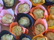 Piccoli muffins zucchine noci