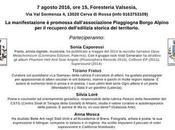 Sonia Caporossi, Tiziano Fratus, Silvia Loré, Anna Mosca, Maria Rosa Panté Sermenza Poetry Festival, 06-07/08/2016
