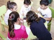 Tele, pennelli colori: arte innovazione occhi bambini