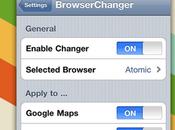 Browser Changer permette scegliere browser preferite vostro dispositivo