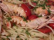 Spaghetti alla busara (con scampi pomodoro)