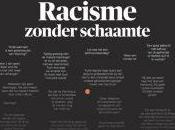 quotidiano belga Morgen pubblica prima pagina commenti razzisti articolo
