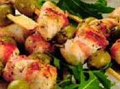 Ricetta: Spiedini pollo olive