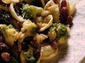 Ricetta: Orecchiette broccoli uvetta