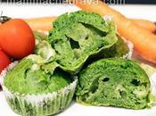 Muffin salati spinaci formaggio