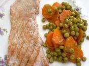Piselli carote umido