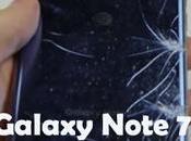 Samsung Galaxy Note rottura vetro frontale posteriore
