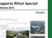 31/08/2016 Ambiente: rifiuti speciali Italia, rapporto dell'ISPRA