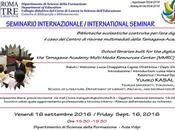 AGENDA: seminario biblioteca scolastica (Roma, 16.09.2016)