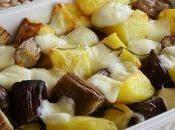 Melanzane olivia patate mozzarella