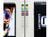 iPhone Samsung Galaxy Note scontrano speed test