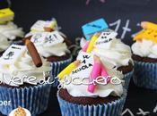 Tutorial back school: cupcakes l'inizio della scuola decorazioni pasta zucchero