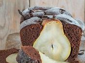 Cake cacao,pere cannella