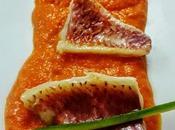 Triglie salsa peperoni rossi