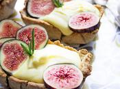 Torta fichi zabaglione limoncello frolla farro noci rosmarino (anche senza lattosio)