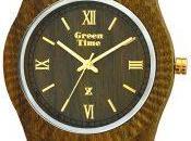 Green Time nuovi orologi naturali vengono Fashion Week!