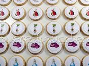 Biscotti decorati pasta zucchero Alice paese delle meraviglie
