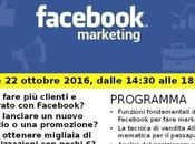 Fare marketing Facebook. Corso formazione Montebelluna ottobre