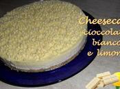 Cheesecake cioccolato bianco limone