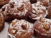 Muffins integrali nocciole miele