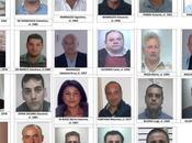 Operazione Town, nomi foto arrestati Crotonese
