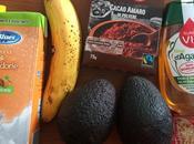 Mousse Cacao Avocado Banana