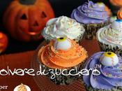 Tutorial Halloween cupcake occhi degli zombie
