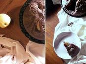Prove d'autunno. torta senza glutine cacao.