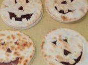 Piada zucchette Halloween alla nutella