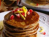 Gingerbread pancakes salsa limone miele