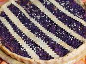Torta salata cavolo viola