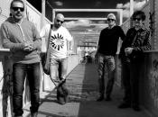 """""""Quattro leoni"""" Firenze: Stolen Apple; Gruppo musicale toscano presentato, recente, loro nuovi pezzi musicali, disco """"Trenches"""" (trincee)."""