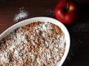 Crumble mele senza glutine