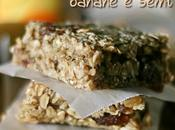 Barrette avena, banane semi- Oats, banana seeds bars