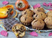 Muffins Cachi Cioccolato Fondente