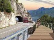 Lago Garda: arrivo pista ciclabile panoramica d'Europa!