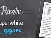 Benvenuto Kindle Paperwhite