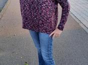 Boxy buttony maglione oversize