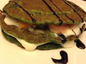 Senza Bimby, Pancakes Salati agli Spinaci Stracchino Salmone Affumicato