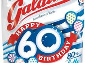 60anni Galatine dolce tavoletta latte, buon compleanno #auguriGalatine