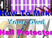 Make Your Peel Tape Nail Protector Tutorial