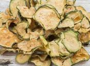 Essiccazione: patatine zucchine