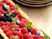 Crostata alla vaniglia, ricotta frutti bosco