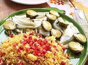 Cous cous mais verdure invernali forno melagrana