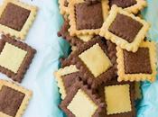 Biscotti bicolore senza glutine