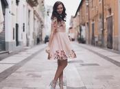 vestito ricami autunno romantico