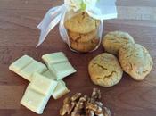 Cookies noci cioccolato bianco