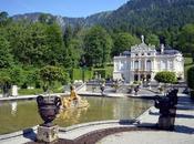 castello Linderhof case dipinte Oberammergau
